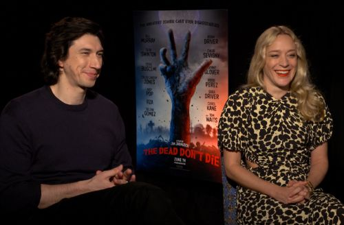 CS Video: Adam Drive & Chloë Sevigny on The Dead Don't Die