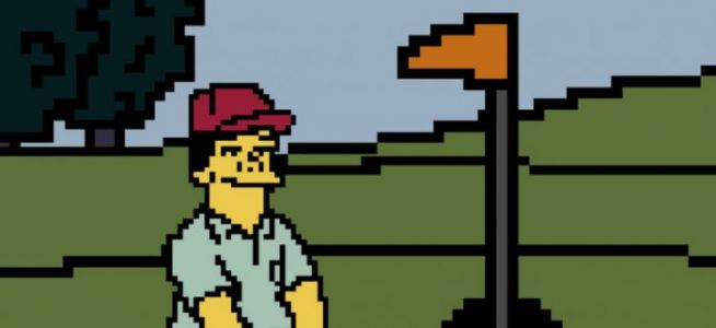 'The Simpsons' Joke Video Game 'Lee Carvallo's Putting Challenge' is Now Real, and Playable