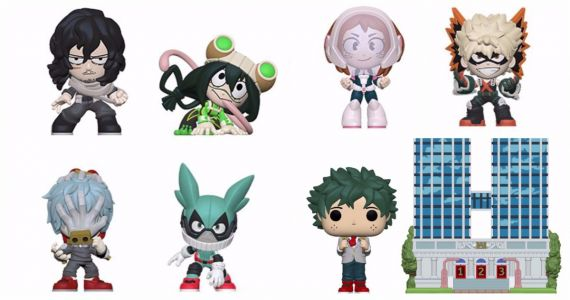 New My Hero Academia Funko Pop! Figures Take Toy Fair by Storm