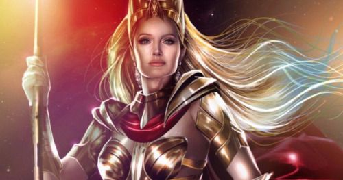 First Eternals Set Photos Reveal Angelina Jolie as ThenaAngelina