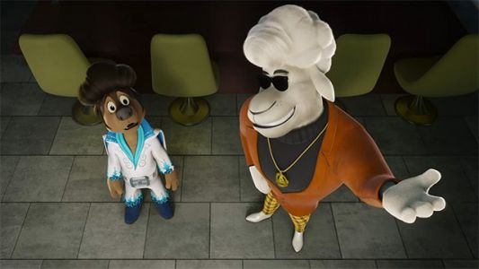 Exclusive Rock Dog 2 Clip: Crossroads Recording Booth