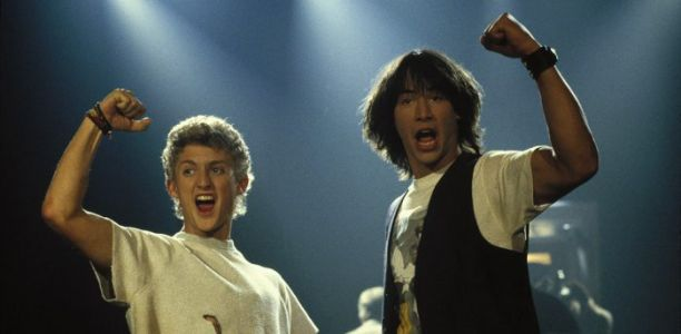 Nostalgia Reigns as Production Begins on 'Bill and Ted Face the Music'