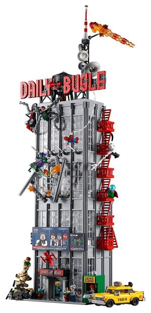 Epic LEGO Spider-Man Daily Bugle Set Stands Nearly Three Feet Tall
