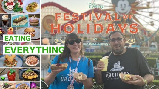 Watch As We Try To Eat EVERYTHING at Disney's Festival of Holidays