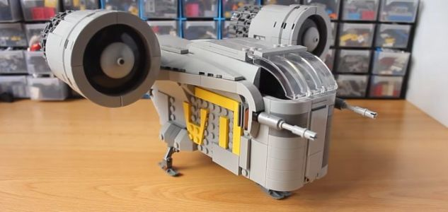 The Morning Watch: Make Your Own LEGO 'Mandalorian' Ship, 'Two Popes: The Musical' & More