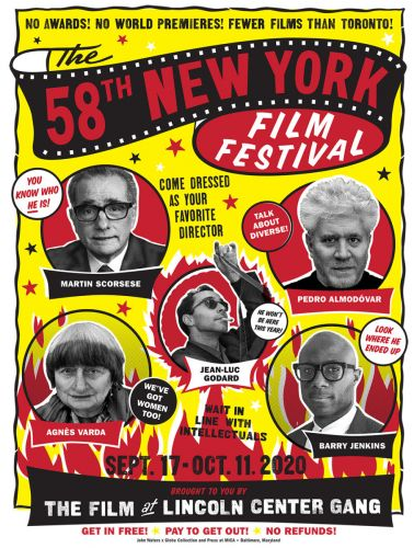 Unveiling the 58th New York Film Festival Poster Designed by John Waters