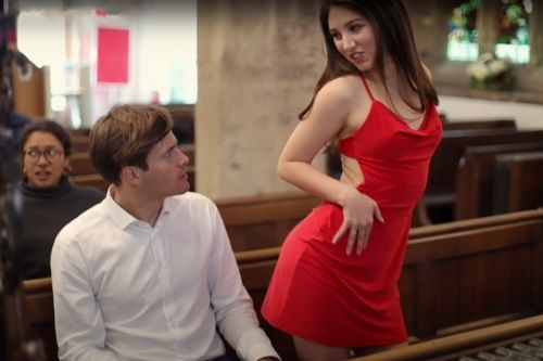 """Sarah Brand's Viral Video For """"Red Dress"""" Makes Rebecca Black Look Like Mariah Carey. But Maybe That's On Purpose?"""