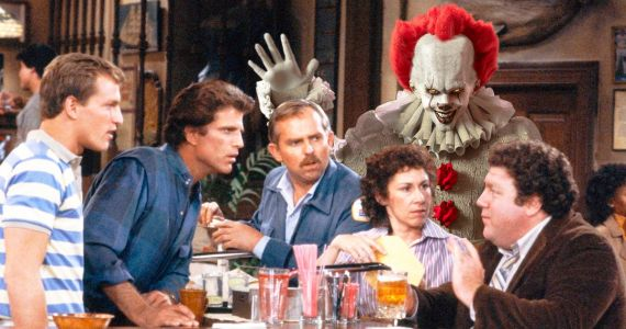 Pennywise Grabs a Beer in Awesome Cheers Intro Mashup Video