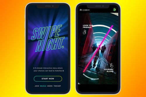 Tinder -Yes, The Dating App Tinder -Is Launching Original Series 'Swipe Night' in October