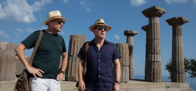 'The Trip to Greece' Review: Steve Coogan and Rob Brydon's 10-Year Food Odyssey Comes to a Bittersweet End