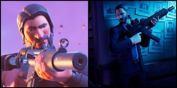 Fortnite's John Wick Skin Makes The Reaper Hilariously Obsolete