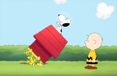 Snoopy in Space Trailer Sends the Peanuts Beagle Into Orbit