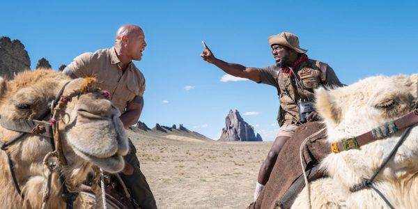 Jumanji Press Reveals What Happens When The Rock And Kevin Hart Do Too Many Interviews In A Row