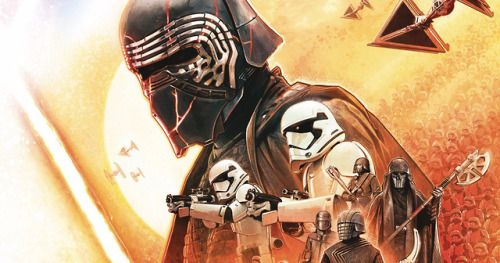 Kylo and the Knights of Ren Storm Official Star Wars Insider