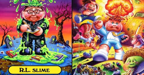 R.L. Stine and Garbage Pail Kids Team Up for New Book