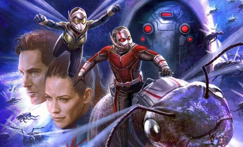 Ant-Man and The Wasp Art Book Cover Revealed