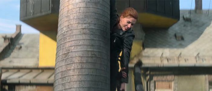 'Black Widow' Clip Finds Scarlett Johansson and Florence Pugh Under Fire, Tickets Are on Sale Now