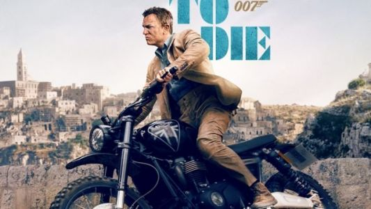 NO TIME TO DIE Has A Fancy New IMAX Poster