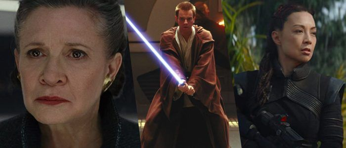 Carrie Fisher, Ewan McGregor, and Ming-Na Wen Are Getting Stars on the Hollywood Walk of Fame