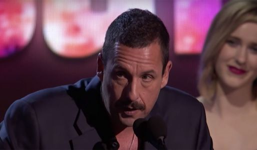 Adam Sandler Gave An Epic NSFW Speech After Winning At Independent Spirit Awards