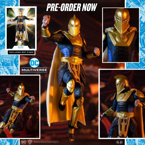 McFarlane Toys Apparates Injustice 2 Dr. Fate and 'Hot Pursuit' Flash
