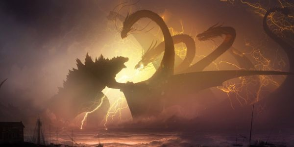 Check Out This Epic Godzilla: King of The Monsters Concept Art