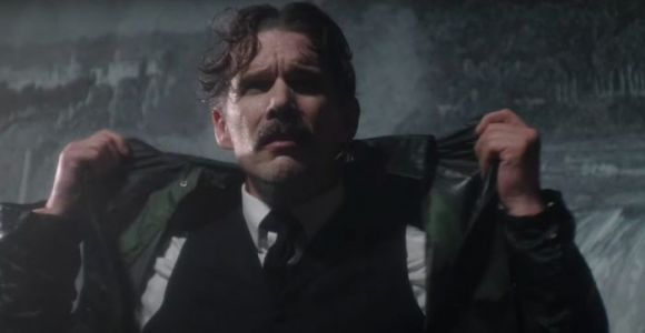 'Tesla' Trailer: Ethan Hawke Electrifies in a Fourth Wall-Breaking Nikola Tesla Biopic